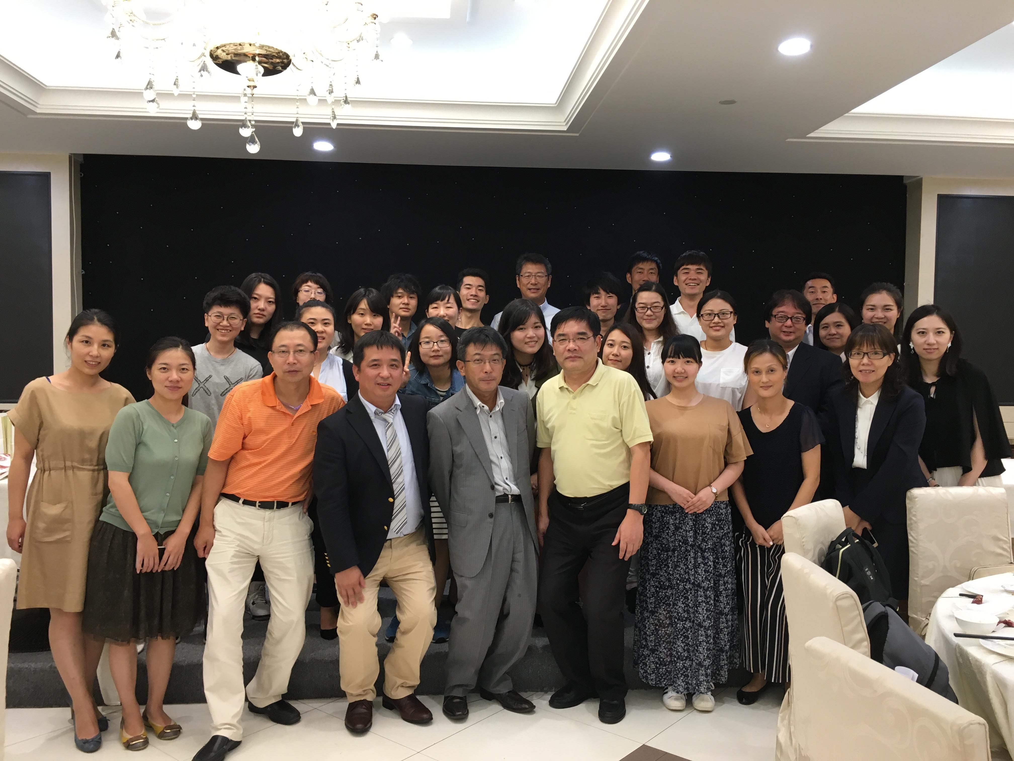 参加学生与上海友好会以及相关企业的交流会